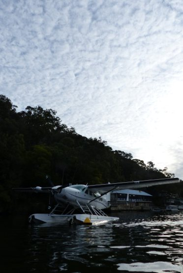 Seaplane in Berowra Creek